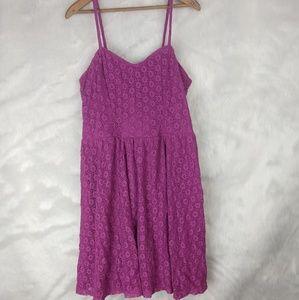 MOSSIMO purple dress